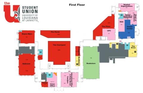 Building Hours & Building Map | Student Union
